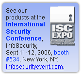 International Security Conference, New York, NY.